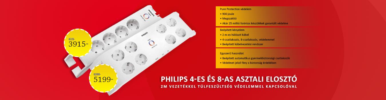 Philips elosztó
